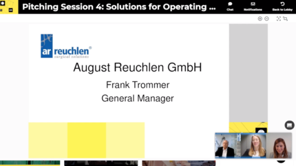 August Reuchlen in the Virtual Healthcare Show